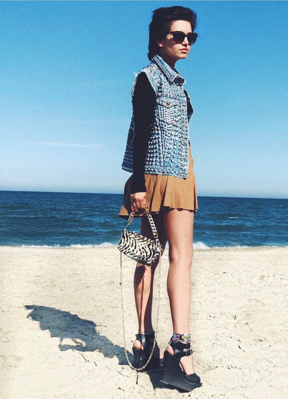 rama in spiaggia